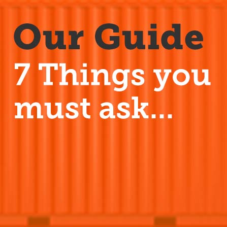 7 things you must ask