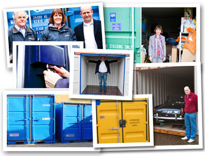 Large range of storage container options