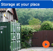 Storage at your place