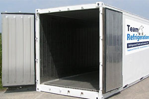 refrigerated container storage